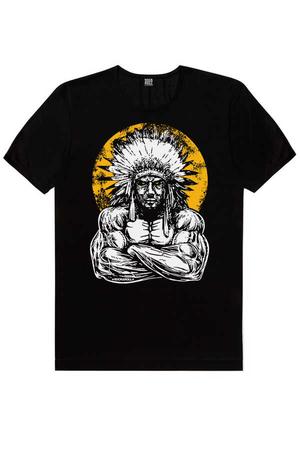 - Büyük Şef Kısa Kollu Siyah Erkek T-shirt