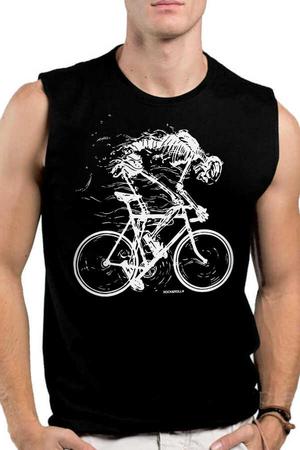 Rock & Roll - Daha Hızlı Siyah Kesik Kol | Kolsuz Erkek T-shirt | Atlet