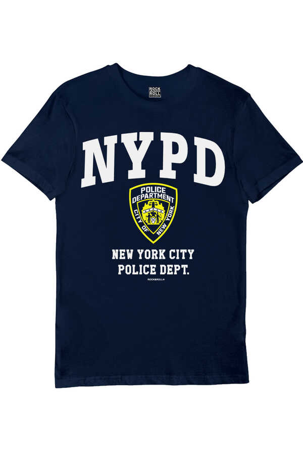 NYPD Lacivert Kısa Kollu Erkek T-shirt