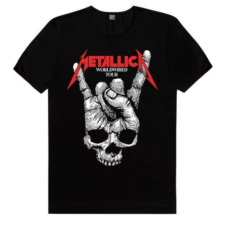 Rock & Roll - Kuru El Siyah Kısa Kollu Erkek T-shirt