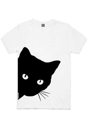 Rock & Roll - Meraklı Beyaz Kısa Kollu Erkek T-shirt