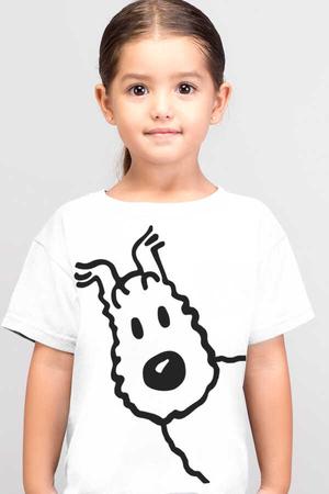 Rock & Roll - Snowy Kısa Kollu Beyaz Çocuk T-shirt